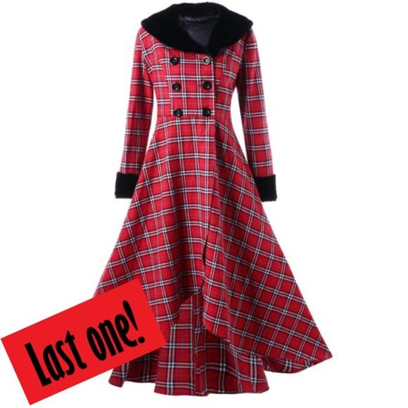 GORGEOUS! ✨ Plus Size Double Breasted Dress Coat Boutique